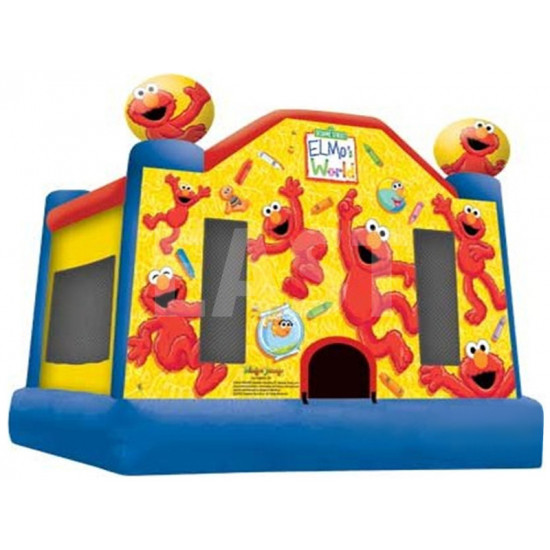 Elmo Chateau Gonflable