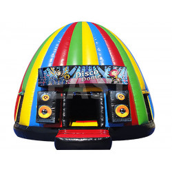 Disco Dome Chateau Gonflable