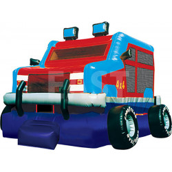 Monster Truck Chateau Gonflable