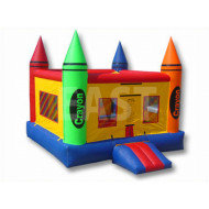 Crayon Chateau Gonflable