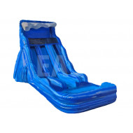 Toboggan Aquatique Blue Wave Dual