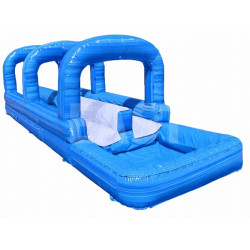 Double Lane Surf N Slide Avec Piscine