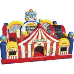 Parcours D'obstacles Carnival Playland