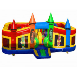 Crayon Toddler Chateau Gonflable