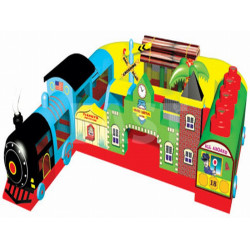Station De Train Gonflable Fun Express