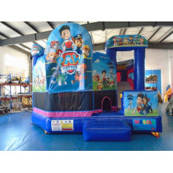 Paw Patrol Chateau Gonflable Avec Toboggan