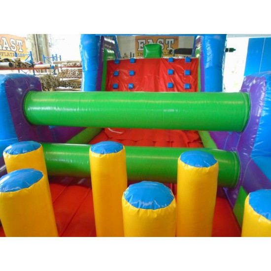 Obstacle Course Chateau Gonflable